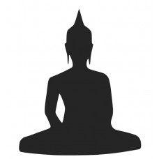 Buddha-02 SVG cut design - (Free) - Instant Download