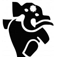 Elephant -003 SVG cut design - (Free) - Instant Download