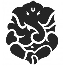 Ganesha 01 SVG cut design - (Free) - Instant Download