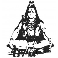 Shiva 01 SVG cut design - (Free) - Instant Download