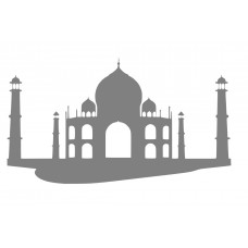 Tajmahal - 001 SVG cut design - (Free) - Instant Download