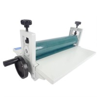 10Inch 250mm Manual Laminating Machine Photo Vinyl Protect Rubber Cold Mounting Lamination