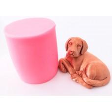 craftial cvurve_CC_cute dog silicone mold