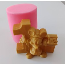 craftial curve_CC_3d mickey mouse silicone mould