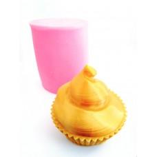 craftial curve_cc_3d cupcake silicone mold
