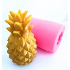craftial curve_CC_Silicone Mold Pineapple Fruit Realistic Shape DIY Candle soap Making Cement Clay Art