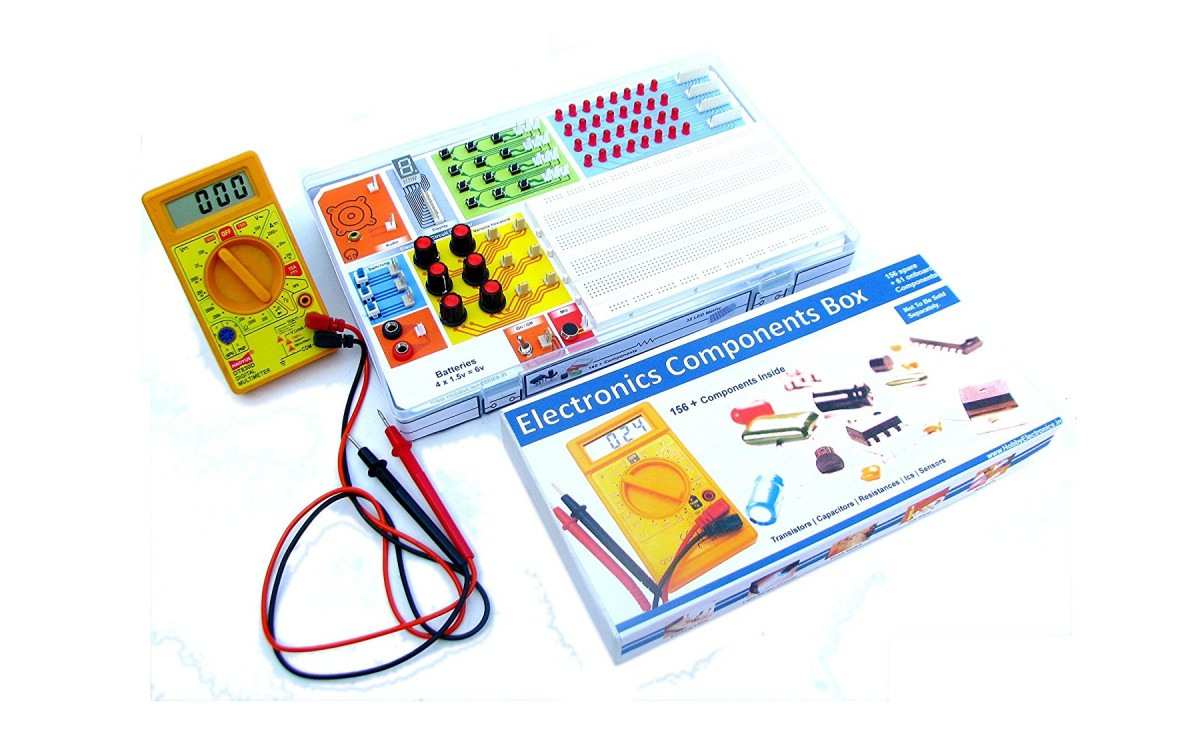 Hobby Electronics, Mega kit - a complete electronics project kit package