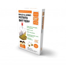 Build & Learn DIY Potato Battery Kit, Make your own battery cell from potatoes