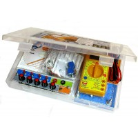 Electronics Project Workbench Kit, 50 in 1 circuits, eBook, Video DVD
