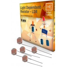 5 pcs LDR Light dependent resistor Electronic Components Electronic Hobby Kit