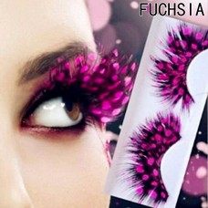 Party eyelashes Pink color