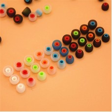 Spare ear plugs for earphones, soft silicone, colorful, earbuds