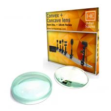 1 Convex & Concave lens Focus 15 cm, Dia 5 cm