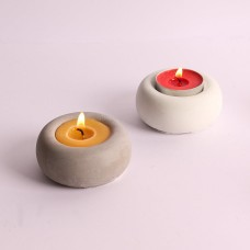 craftial curve_CC_170_Round Concrete Candle Holder molds