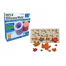 IndoSilico non Food grade  Leaf Silicone mold  DIY Art Mould Multipurpose Clay, Resin, Sugar, Cement Craft Project