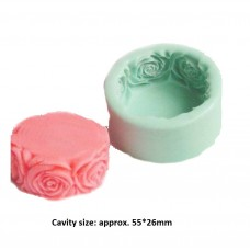 craftial curve_cc76 rose soap Mold, Silicone DIY Art Mould