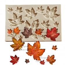 craftial curve_CC32_ Leaf Silicone mold  DIY Art Mould