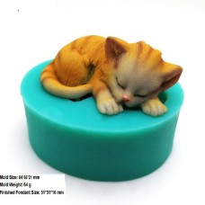 IndoSilico 3D Kittens Silicone molds  DIY Art Mould Multipurpose Clay, Resin, Sugar, Cement Craft Project