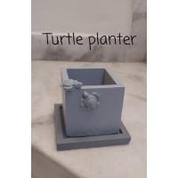 craftial curve_sqare pot silicone mold big size