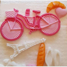 Craftial Curve_CC34_ Bicycle Shaped Silicone Mold