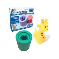 IndoSilico Silicone Giraffe Animal Mould Reusable Flexible Silicon Mold  Multipurpose Clay, Resin, Sugar, Cement Craft Project