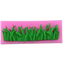 craftial Curve_CC64_Green Grass Candy Mold Cake Decoration Mold Silicone DIY Art Mould