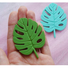 craftial curve_CC28_Monstera Leaf Impression Decoration 3D Silicone Leaves Mould