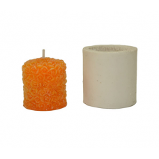 craftial Curve_CC84_Pillar Silicone Rubber Candle Mould