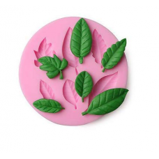Craftial Cruve_CC50_ Round Patti Tree Leaf Silicon Mould , Silicone DIY Art Mould