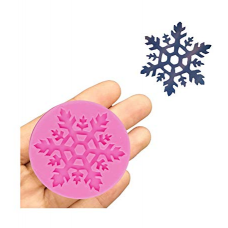 craftial curve_CC12_ Snow Flake Decoration ice Silicone Mould