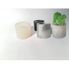 craftial curve_Silicone Mold Cylinder Small Diy Planter Home Decor Desk Candle Holder Pot Cup Succulent Tea Lights Candlestick Pen Pencil