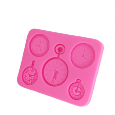 craftial curve_CC50_ Silicone Mould, 3x4x0.5in - Vintage Watch Mould